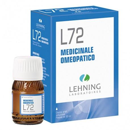 LEHNING L72 GOCCE 30 ML - Farmafamily.it