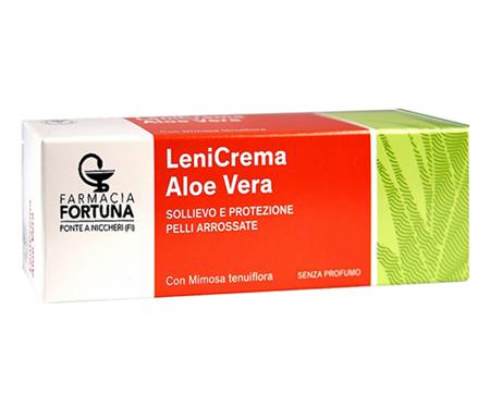 TuaFarmaOnline LeniCrema Aloe Vera Sollievo e Protezione Pelli Arrossate 100ml - latuafarmaciaonline.it