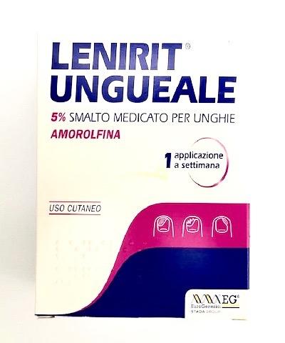LENIRIT UNGUEALE*2,5ML 5% SMAL - Farmacento