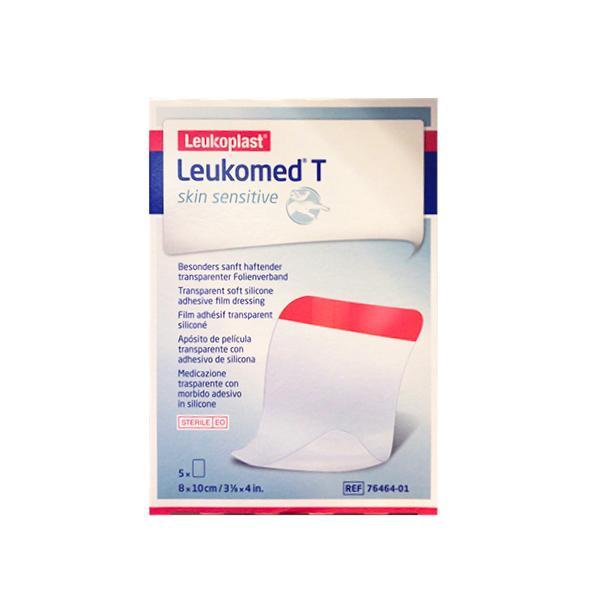 Leukomed T Skin Sensitive Medicazione Post-Operatoria Trasparente con Massa Adesiva al Silicone 8 x 10cm 5 Pezzi - Arcafarma.it