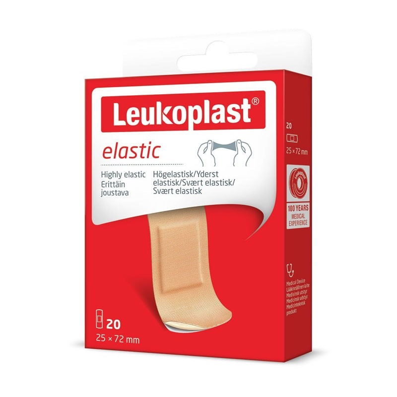 LEUKOPLAST ELASTIC 72X25 20 PEZZI - Farmastar.it