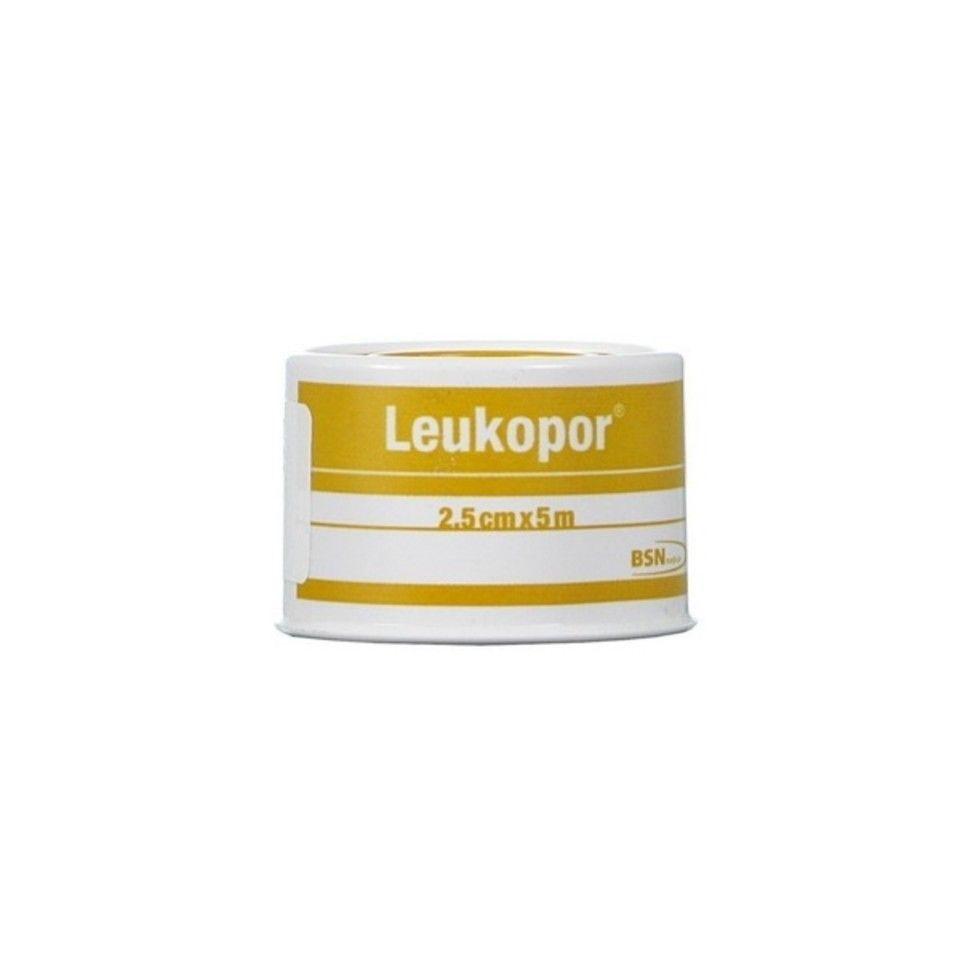 Leukopor Cerotto in Rocchetto Tessuto Non Tessuto Bianco 2,5 x 500cm - Sempredisponibile.it