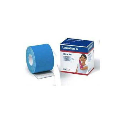 Leukotape K Benda Anelastica in Rocchetto per Taping kinesiologico blu 5cm x 5m - Arcafarma.it