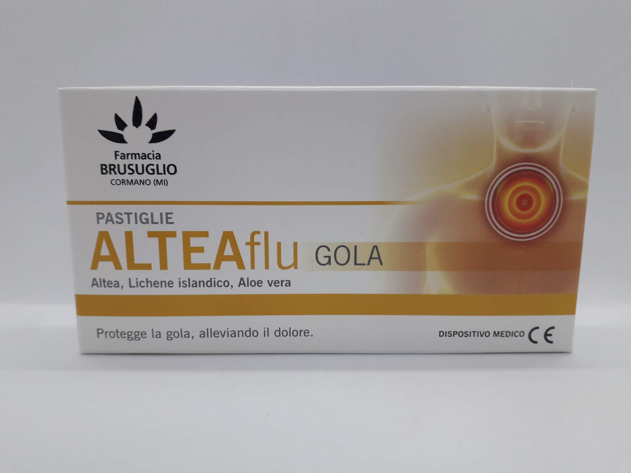 LFP ALTEAFLU GOLA 20 COMPRESSE - Farmaciaempatica.it
