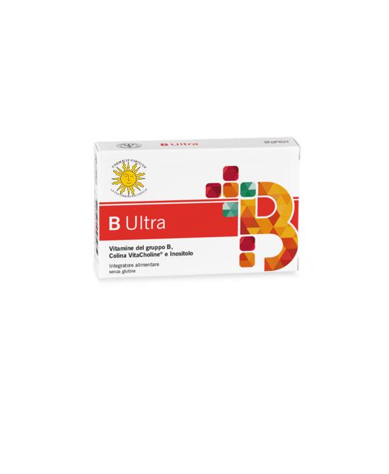 B Ultra Integratore Alimentare Vitamine B 30 capsule - latuafarmaciaonline.it