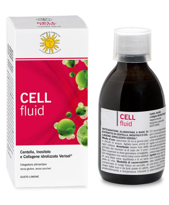 TuaFarmaOnLine Cell Fluid Integratore Cellulite Sciroppo 300 ml - latuafarmaciaonline.it