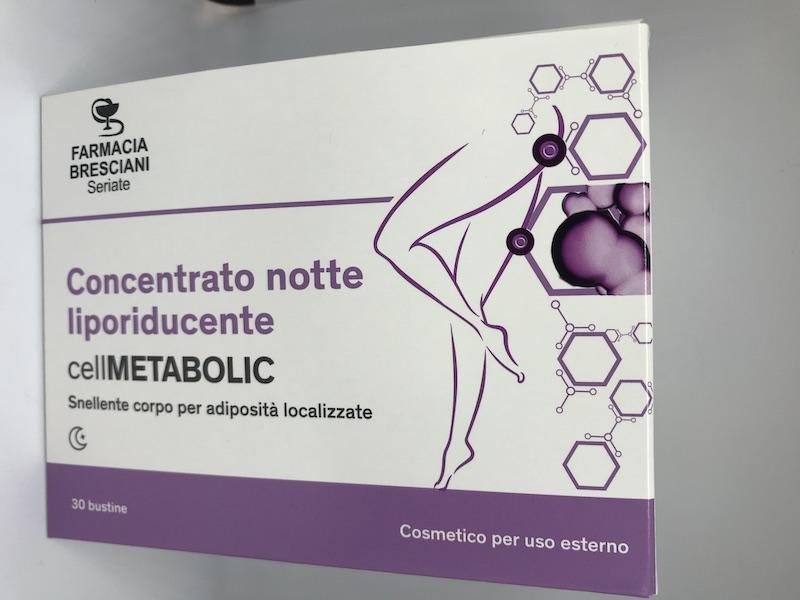LFP Crema Intensiva Corpo Notte Cell Metabolic 30 Bustine