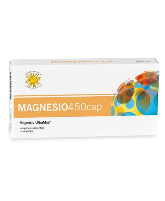 TuaFarmaonLine Magnesio 450cap Integratore Stanchezza e Affaticamento 30 Capsule - La tua farmacia online