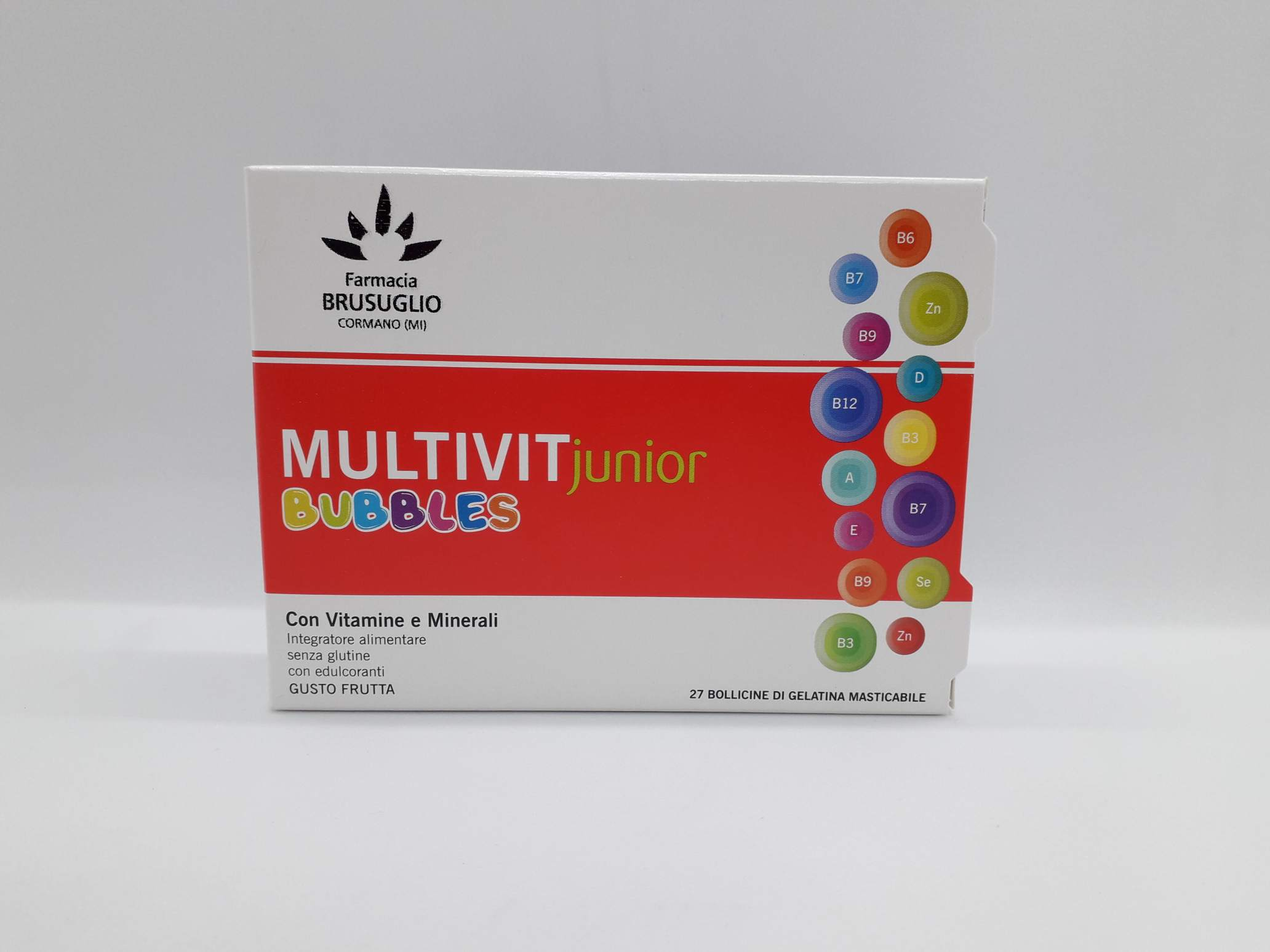 LFP MULTIVIT JR BUBBLES 27 GEL - Farmaciaempatica.it