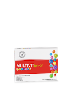 LFP Multivit Junior Bubbles 27 Bollicine Gel
