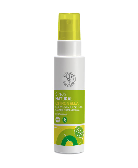 Spray alla citronella anti zanzare 100 ml - latuafarmaciaonline.it