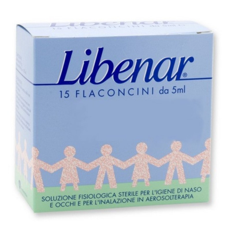 CHEFARO PHARMA LIBENAR 15 FLACONCINI SOLUZIONE ISOTONICA 5 ML  - Farmastar.it