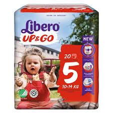 LIBERO UP&GO PANNOLINI 5 10-14 20 PEZZI - farmaciafalquigolfoparadiso.it