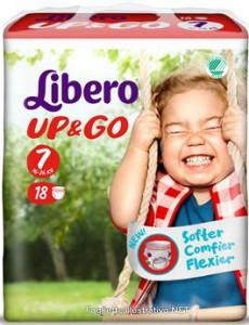 LIBERO UP&GO PANNOLINI 7 16-26 16 PEZZI - DrStebe