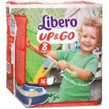 LIBERO UP&GO PANNOLINI 8 19-30 14 PEZZI - farmaciafalquigolfoparadiso.it