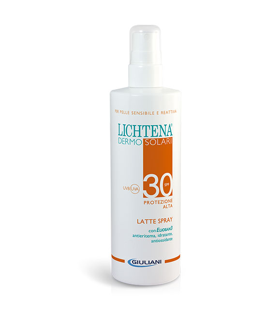 LICHTENA DERMOSOL LATTE SPRAY SPF 30 200 ML - latuafarmaciaonline.it