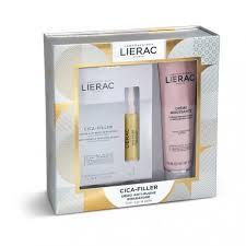 LIERAC CF CICA FILLER 3 FIALE X 10 ML + DEMAQUILLANT MOUSSE 150 ML - farmaciafalquigolfoparadiso.it