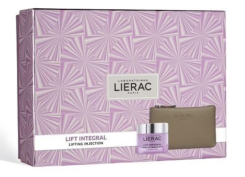 Lierac Cofanetto Regalo Donna Anti-età Lift Integral Crema 50 ml + Pochette Rue des Fleurs omaggio - Farmastar.it