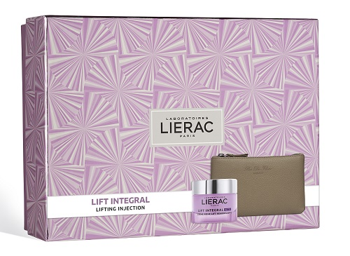 Lierac Cofanetto Regalo Donna Anti-età Lift Integral Crema Ricca + Pochette Rue des Fleurs omaggio - Farmastar.it