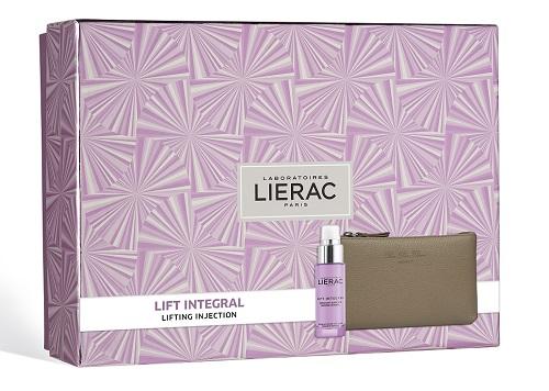 Lierac Cofanetto Regalo Donna Anti-età Lift Integral Siero + Pochette Rue des Fleurs omaggio - Farmastar.it