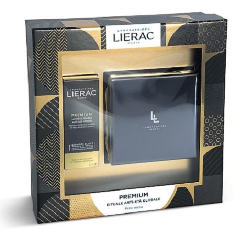 Cofanetto di Natale Lierac Premium La Creme Voluptueuse 50 ml + Premium Contorno Occhi 15 ml Idea Regalo - Farmastar.it