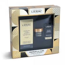 LIERAC CF PREMIUM CURE 30 ML + PREMIUM CREMA 15 ML + PREMIUM YEUX 3 ML - Farmawing