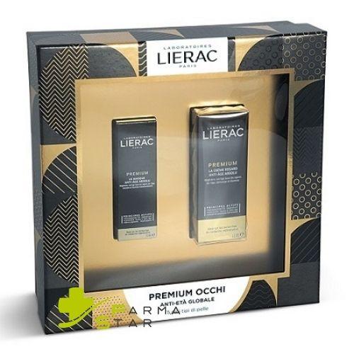 Cofanetto Regalo Lierac Premium Contorno Occhi 15 ml + Premium Maschera 10 ml Idea Regalo - Farmastar.it