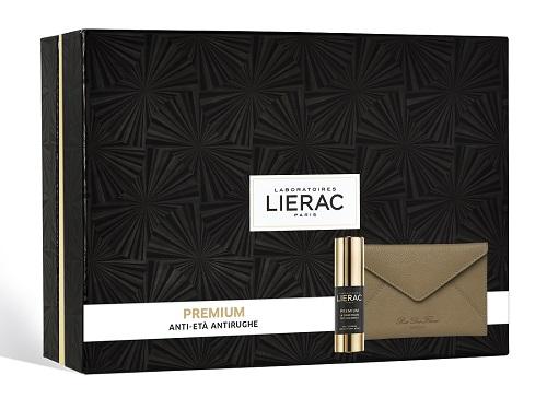 Lierac Cofanetto Regalo Donna Premium Trattamento Contorno  Occhi Crema Anti-età globale + Pochette Rue des Fleurs omaggio - Farmastar.it