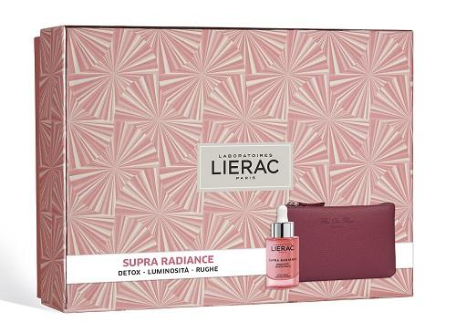 Lierac Cofanetto Regalo Donna Detox Supra Radiance Siero Booster di Luminosità 30 ml + Pochette Rue des Fleurs omaggio - Farmastar.it