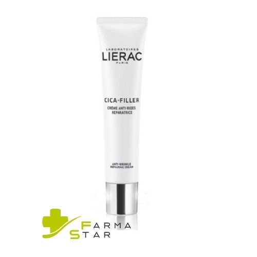 LIERAC CICA FILLER CREMA VISO  ANTI-RUGHE RIPARATRICE PELLE SECCA 40 ML - Farmastar.it