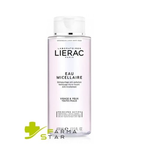 LIERAC EAU MICELLAIRE STRUCCANTE FORMATO CONVENIENZA 400 ML - Farmastar.it