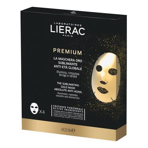 LIERAC PREMIUM MASCHERA ORO MULTIPACK 4X20ML - Farmastar.it
