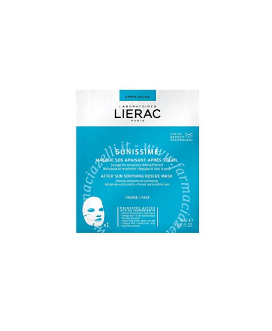 LIERAC SUNISSINE MASCHERA DOPOSOLE IN TESSUTO 18 ML - Farmaci.me