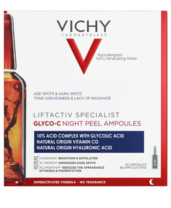 Vichy Liftactiv Specialist Glyco C Night Peel 30X2ml - Farmaci.me