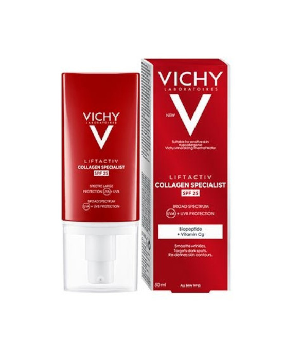 LIFTACTIVE COLLAGEN SPEC ANTI MACCHIE SPF25 50 ML - Farmaci.me