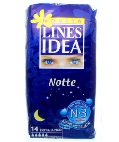 LINES IDEA NOTTE SENZA ALI 14 PEZZI - Farmafirst.it