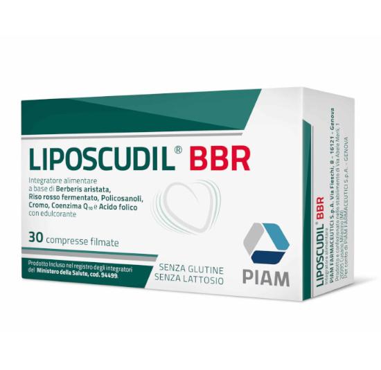 LIPOSCUDIL BBR 30 COMPRESSE - sapofarma.it