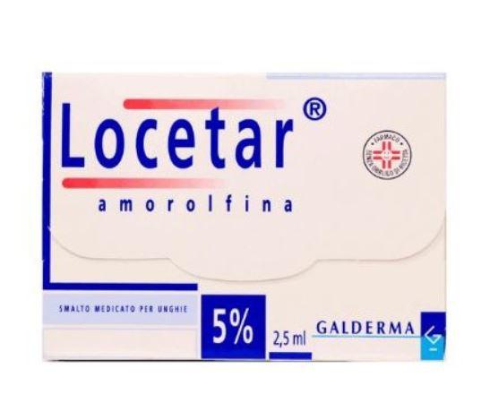 LOCETAR SMALTO UNGHIE 2,5ML 5% - Farmafirst.it