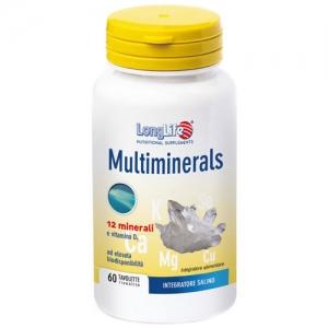 LongLife  Multiminerals 60 tav - Zfarmacia