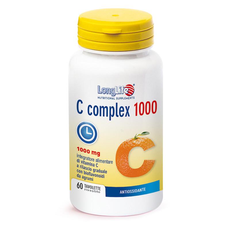 Longlife C Complex 1000 60 Tavolette - Arcafarma.it