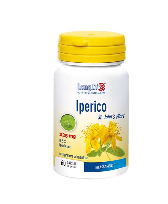 LONGLIFE IPERICO 60 CAPSULE VEGETALI - latuafarmaciaonline.it