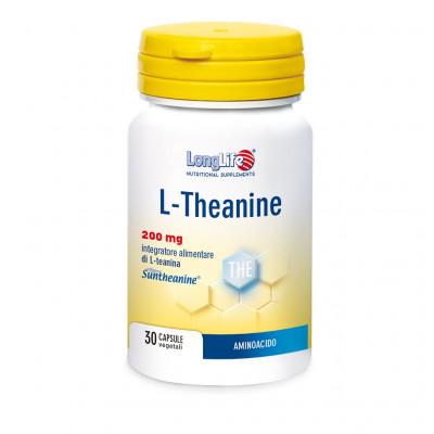 LONGLIFE L-THEANINE 30 CAPSULE - Farmacia Barni