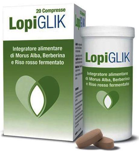 LOPIGLIK TUBO 20 COMPRESSE 1,15 G - Farmacia Centrale Dr. Monteleone Adriano