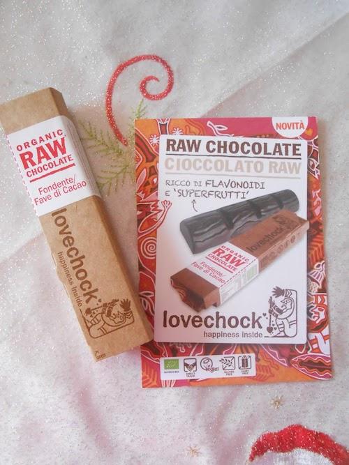 Lovechock Cioccolato 100% Raw Fave di Cacao 40g - Sempredisponibile.it