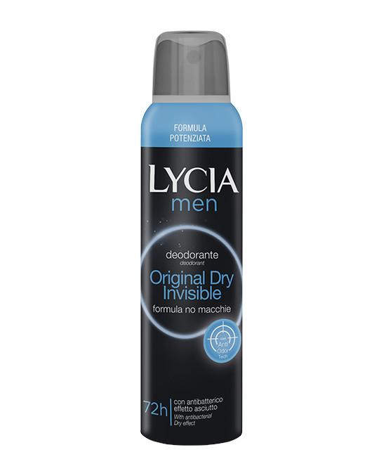 LYCIA MEN ORIGINAL DRY 150 ML - Farmaci.me