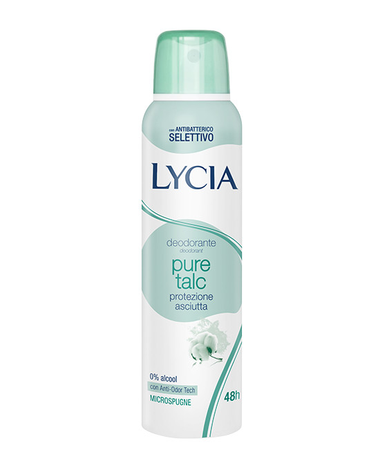 LYCIA PURE TALC SPRAY - Farmaci.me