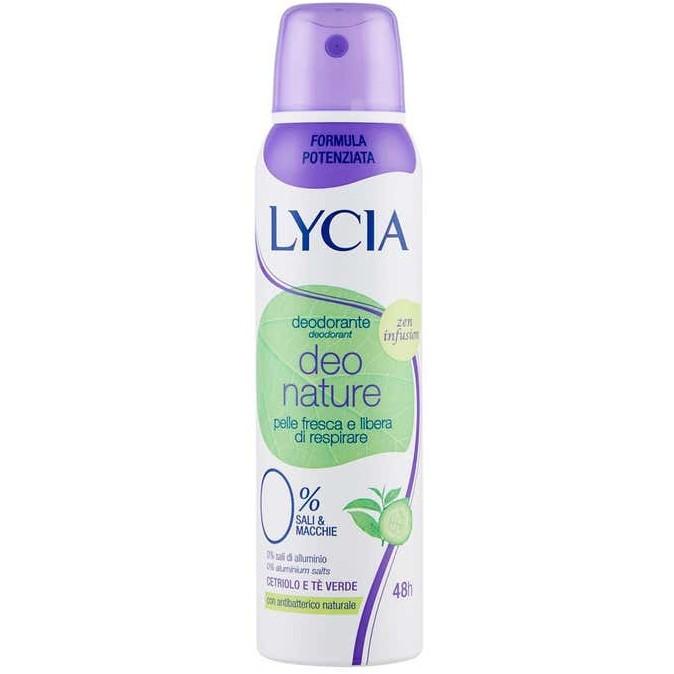 LYCIA SPRAY GAS DEO NATURE 150 ML - Farmafamily.it