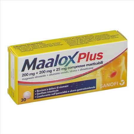MAALOX PLUS*30CPR MAST - Farmafamily.it