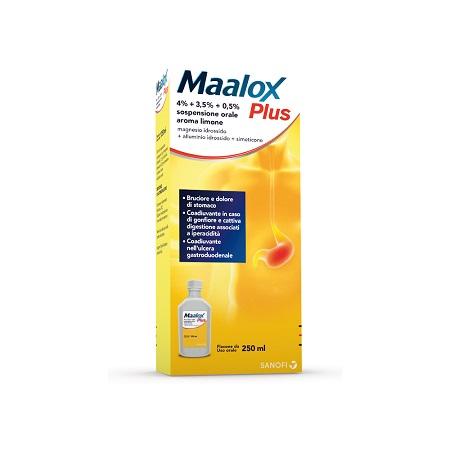 MAALOX PLUS*OS SOSP 4+3,5+0,5% - Farmafamily.it
