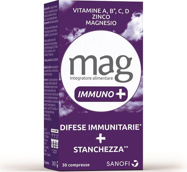 MAG IMMUNO+ 30 COMPRESSE PROMO - Farmacianuova.eu